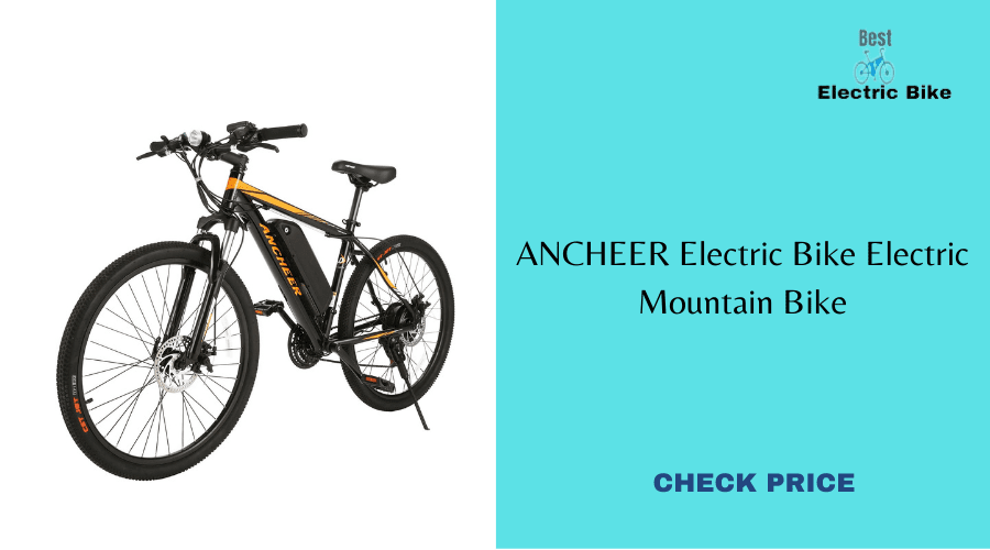 NCHEER Electric Bike Electric Mountain Bike
