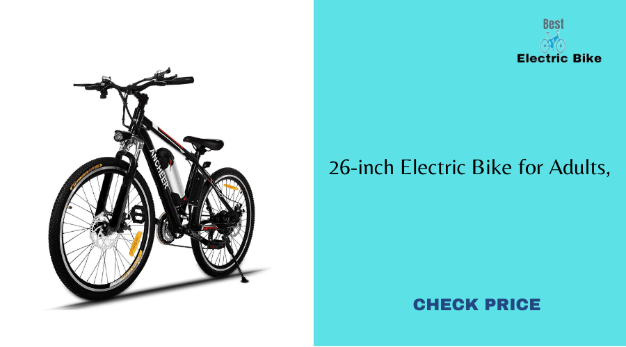 26-inch Electric Bike for Adults
