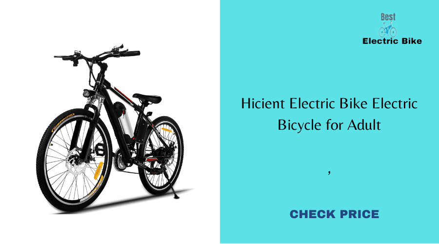 Hicient Electric Bike Electric Bicycle