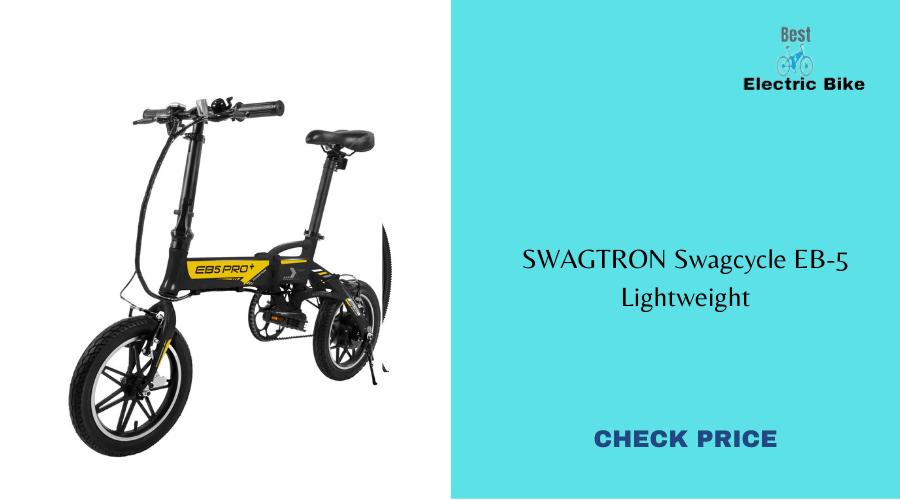 SWAGTRON SWAGCYCLE EBS Plus Folding Electric Bike